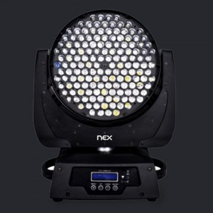 NEX Illumi LED Spotlight RGBw 500W AC 100V-250V 25D IP20