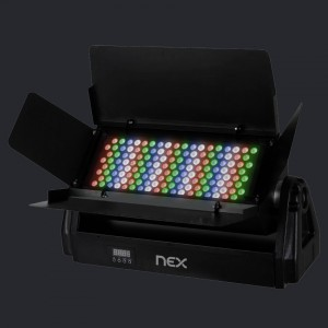 NEX Illumi LED Spotlight RGBw 450W AC 110-220V 45D IP65